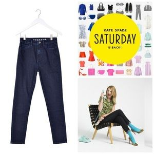 Kate Spade | Saturday High Waist Straight Leg Jean